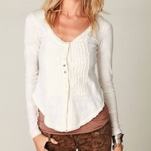 New Free People S Gypsy Long Sleeved Top